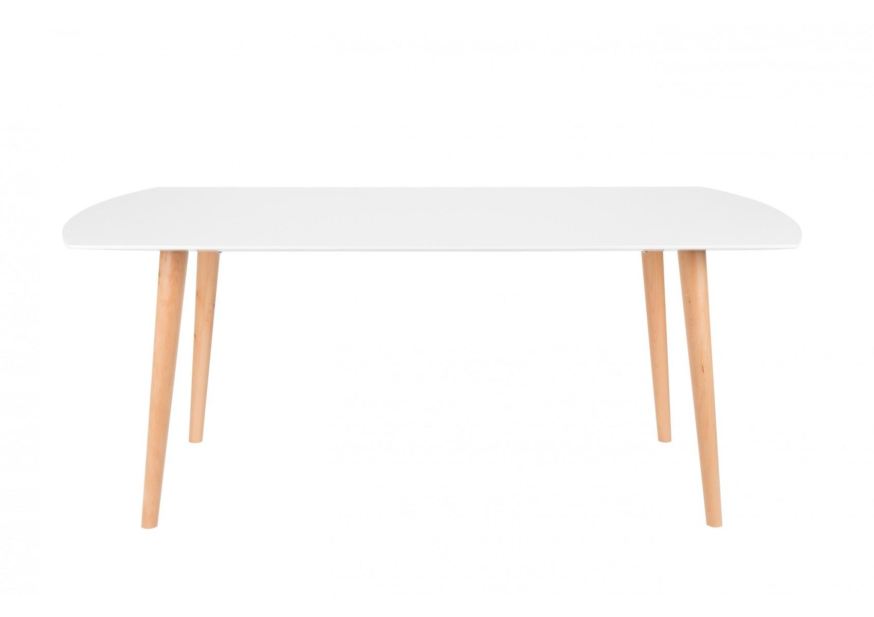 Table de repas table sion h tre massif et mdf deco for Table de repas