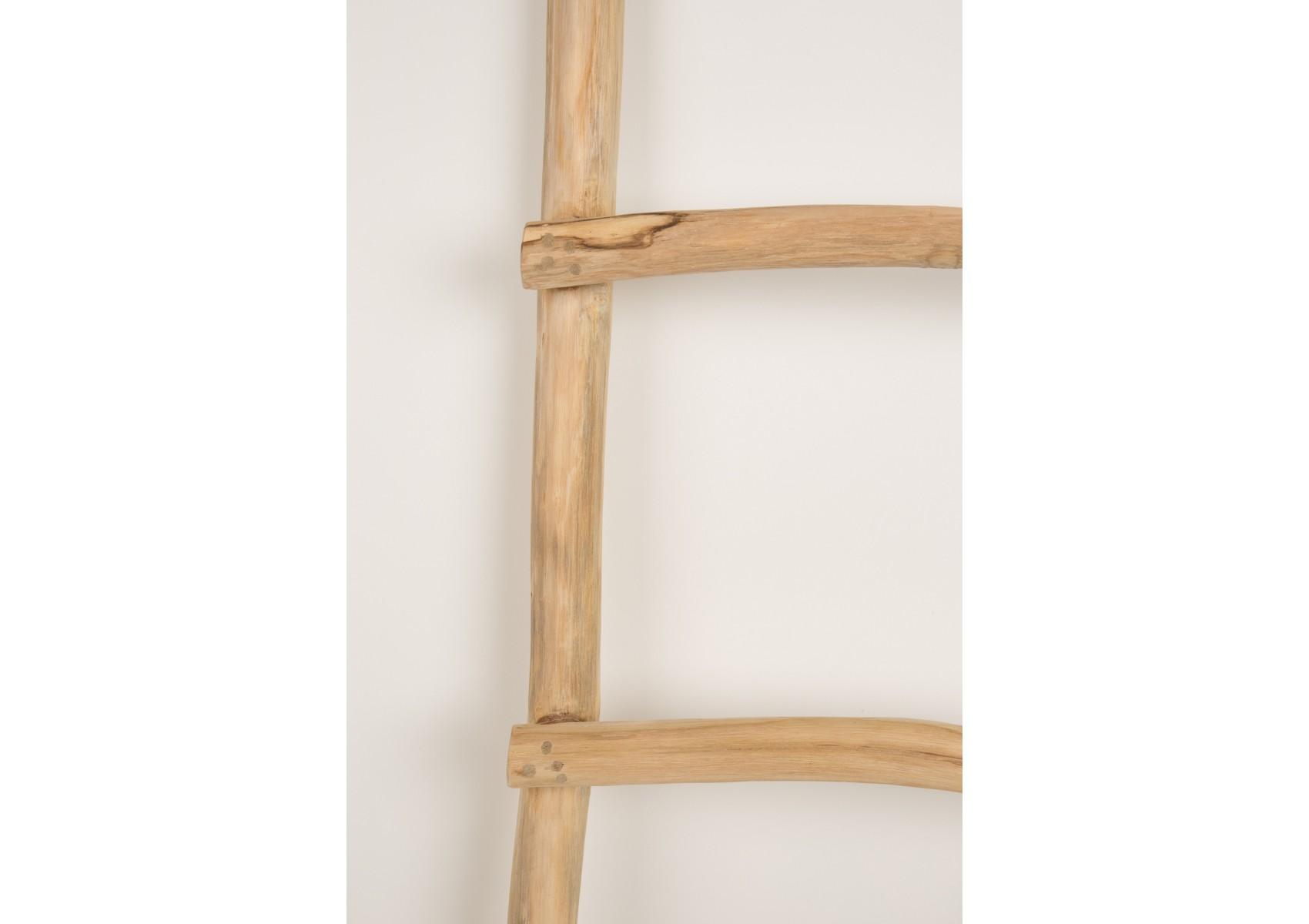 Echelle design en bois harry d corative et rangement - Echelle decorative en bois ...
