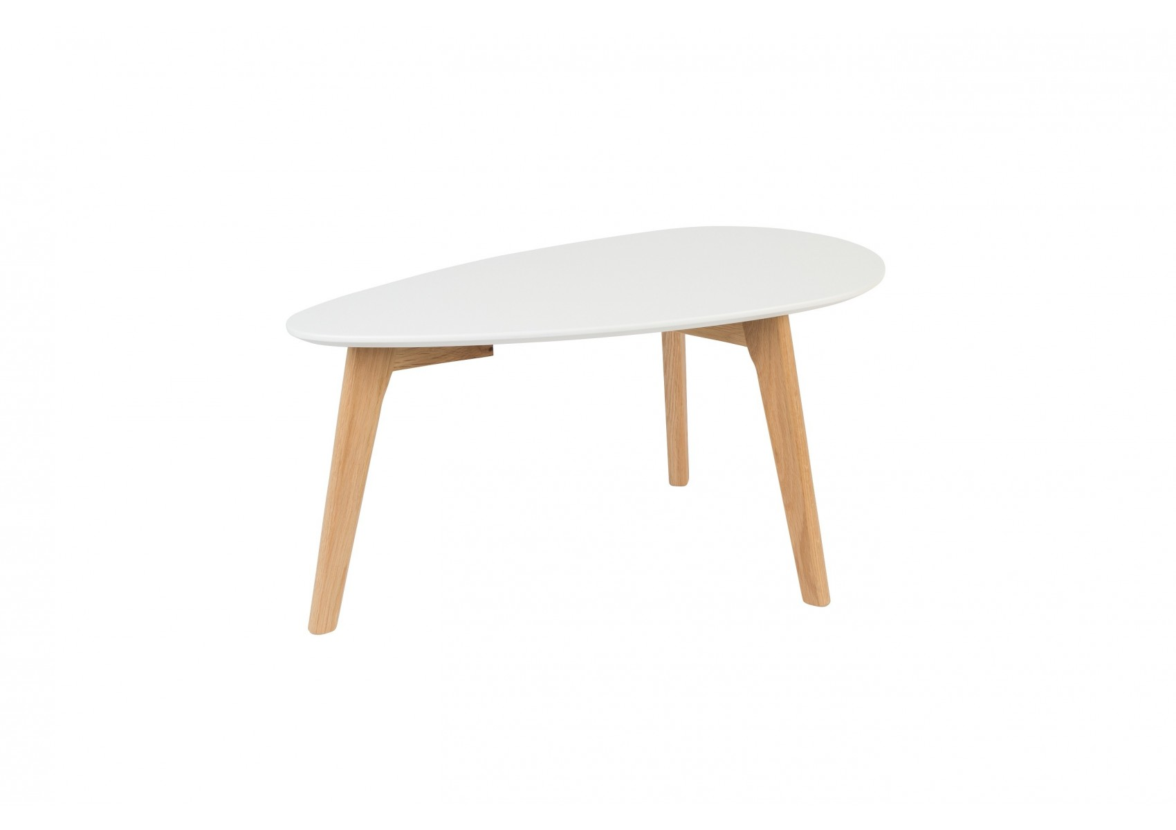 Tables basse scandinave drop laqu e blanche Table basse scandinave laquee