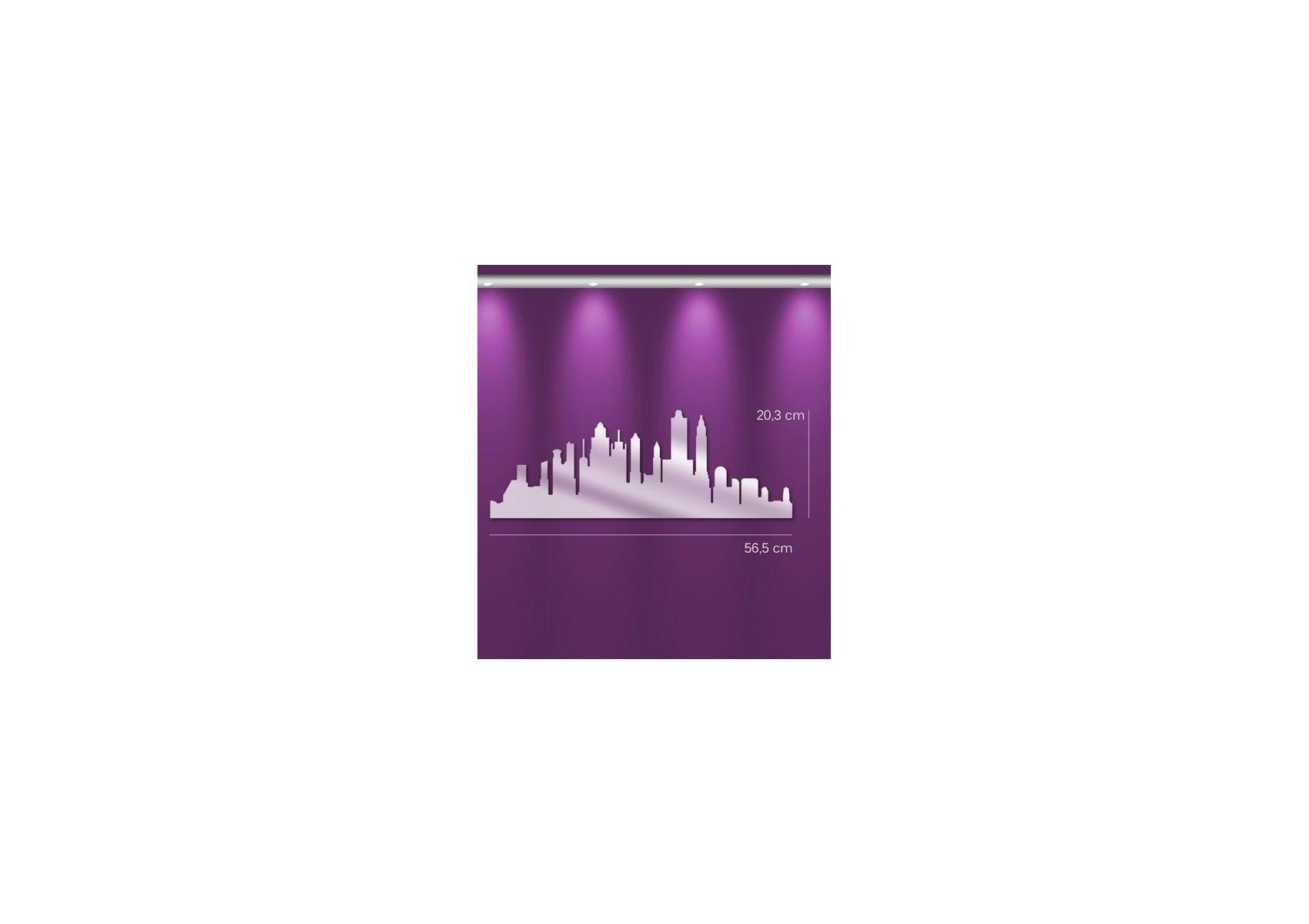 Miroir ville de new york deco design en acrylique boite for Miroir new york