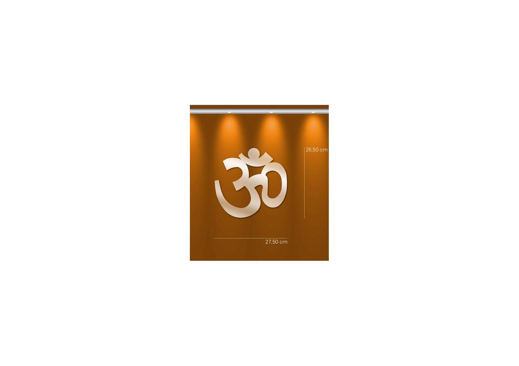 Miroir bouddhiste aum deco design en acrylique for Miroir en acrylique