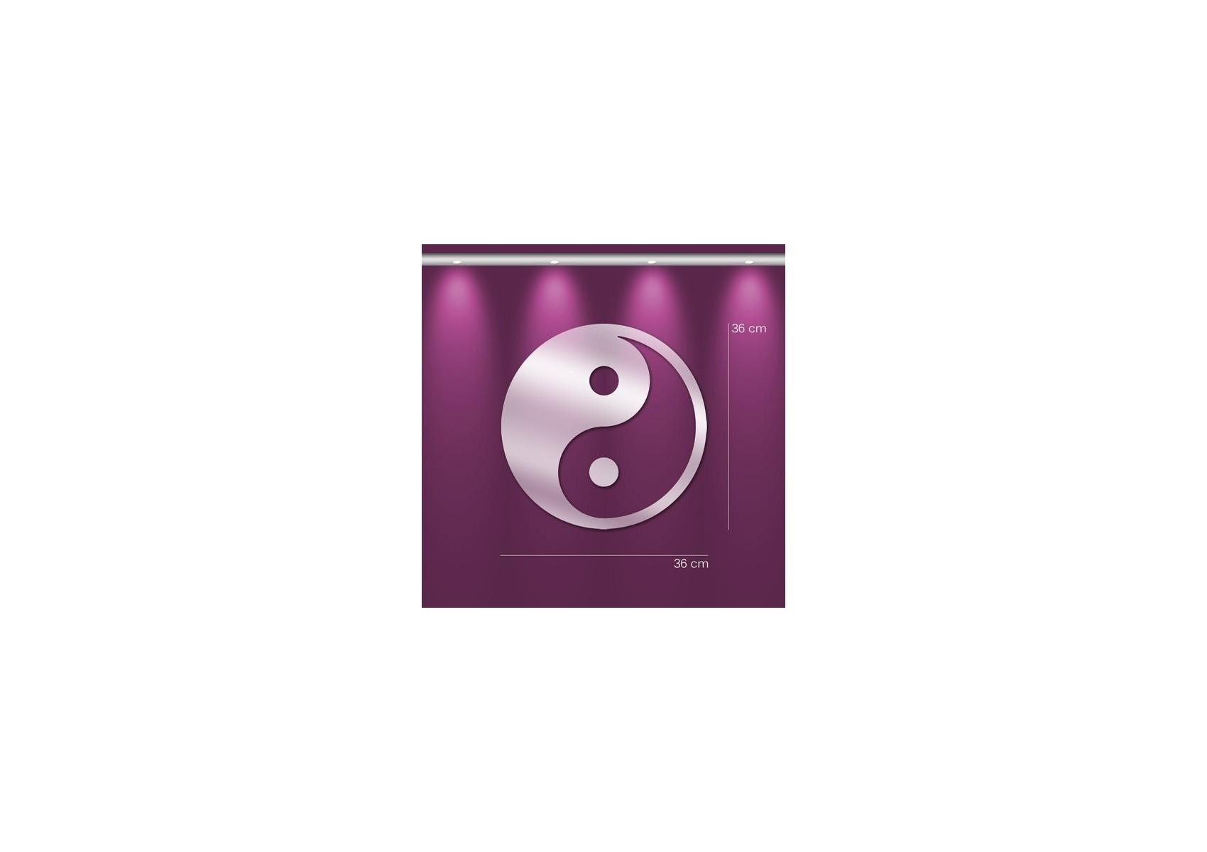 Miroir yin yang chinois deco murale boite design for Decoration murale yin yang