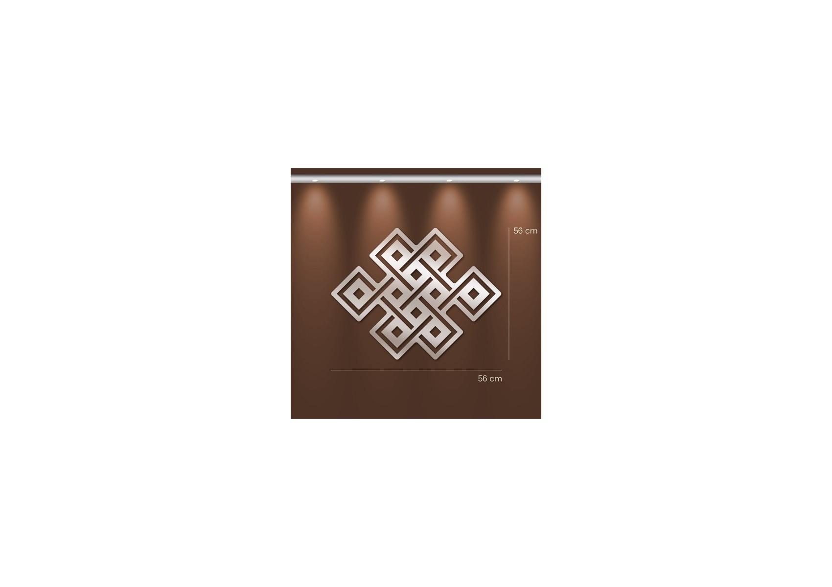 Miroir design symbole bouddhiste en acrylique boite design for Miroir en acrylique