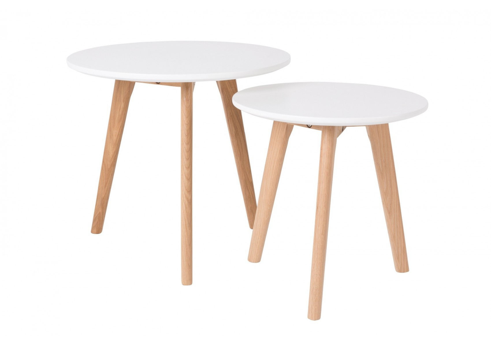 Tables basses scandinave bodine set de 2 boite design for Table basse scandinave design