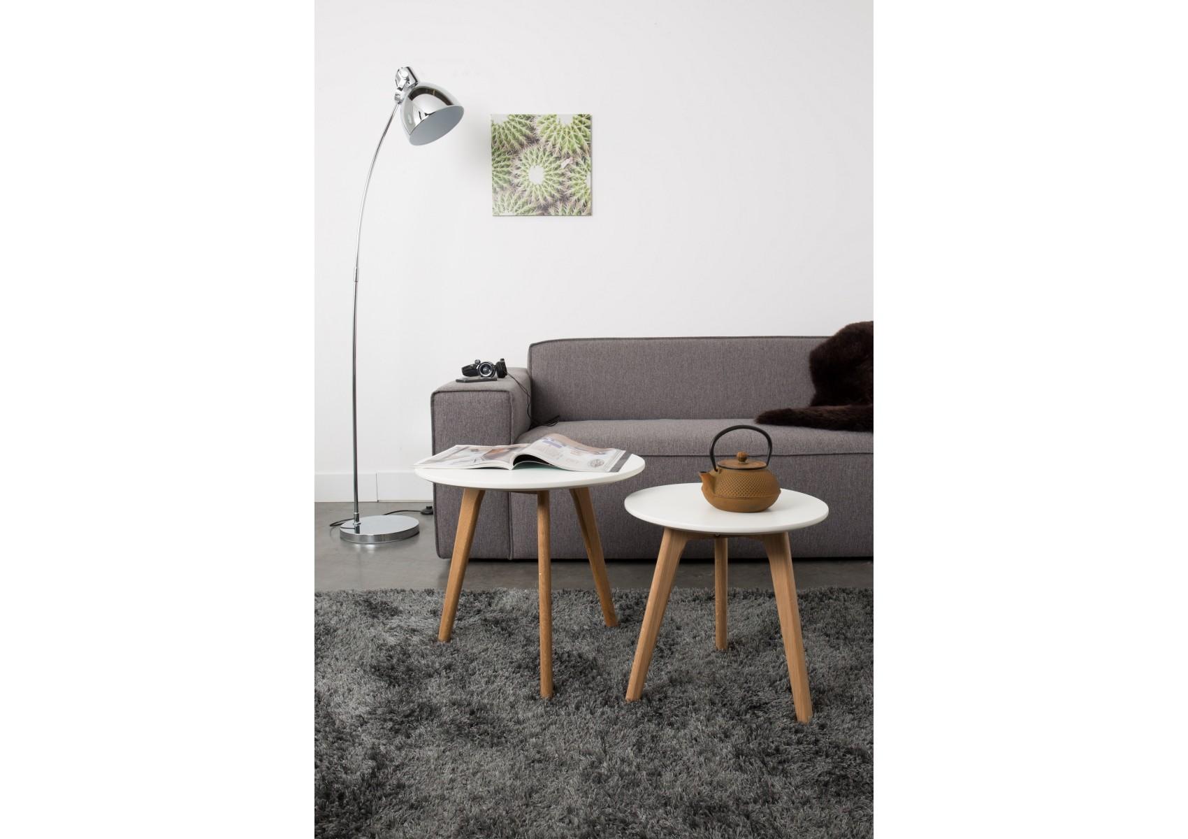 Tables basses scandinave BODINE set de 2 Boite à design