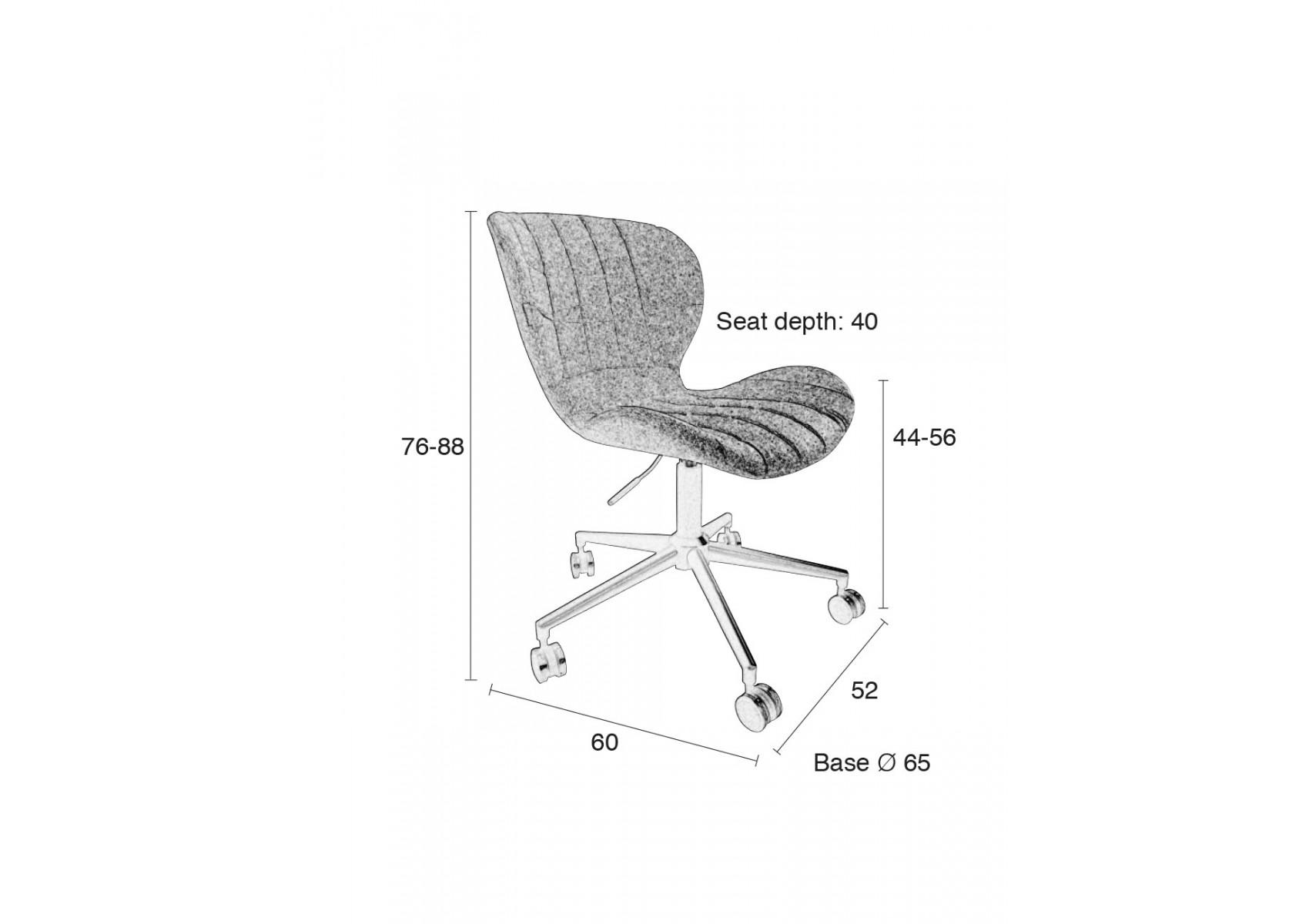 Chaise de bureau design omg office zuiver boite design for Chaise zuiver omg