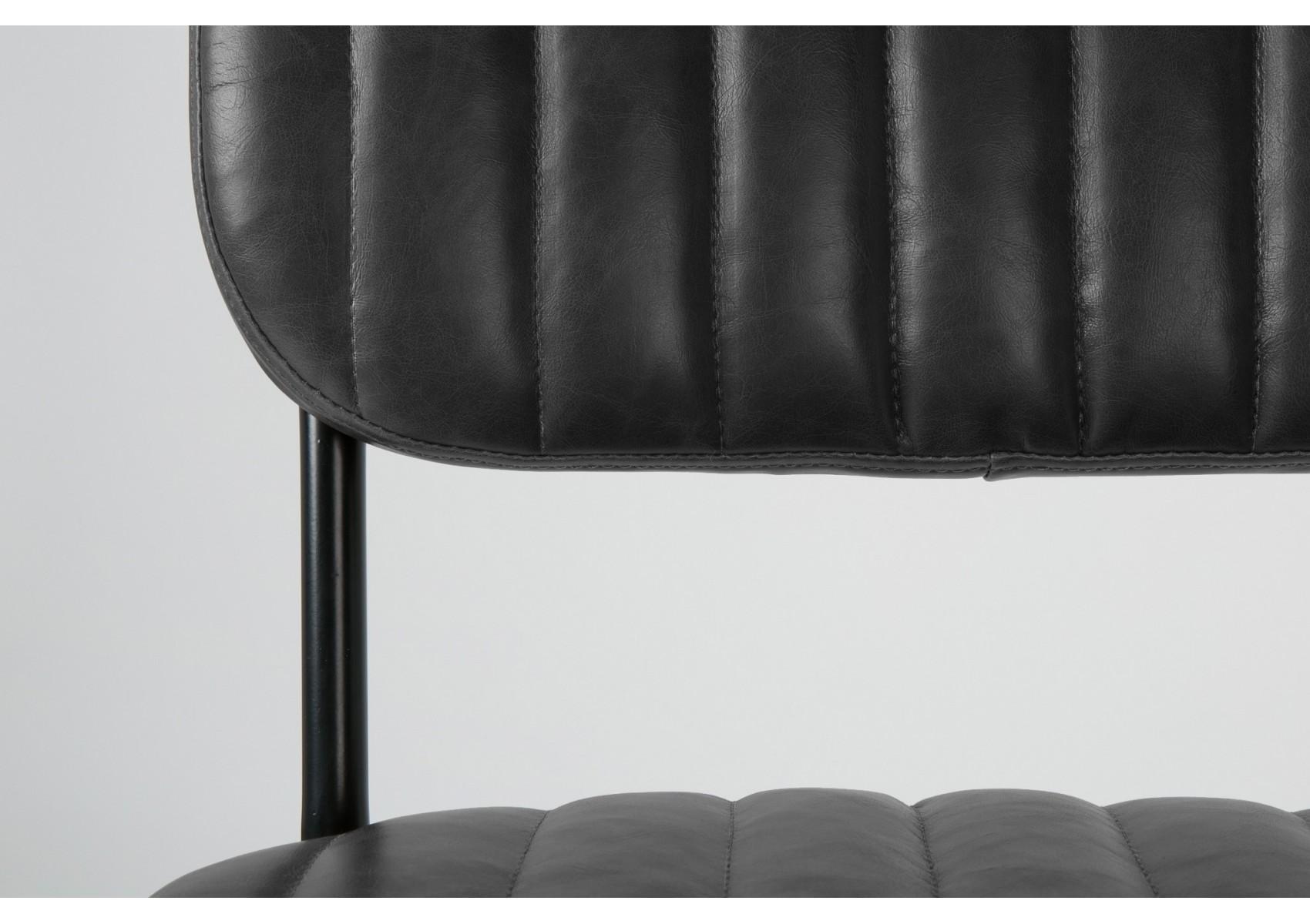 chaise design scandinave jake simili cuir boite design. Black Bedroom Furniture Sets. Home Design Ideas