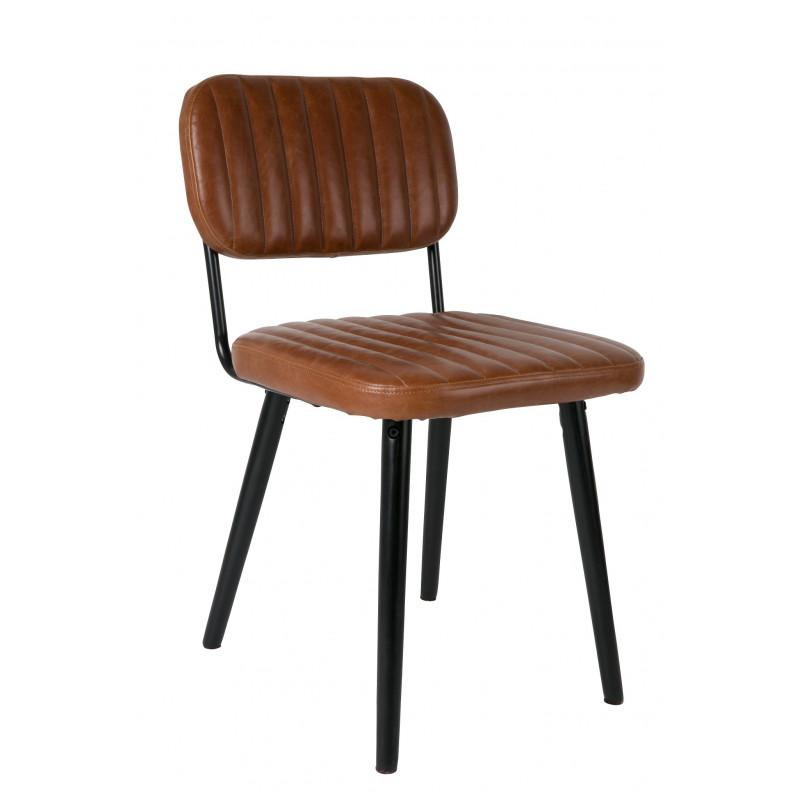 chaise r tro industrielle jake. Black Bedroom Furniture Sets. Home Design Ideas