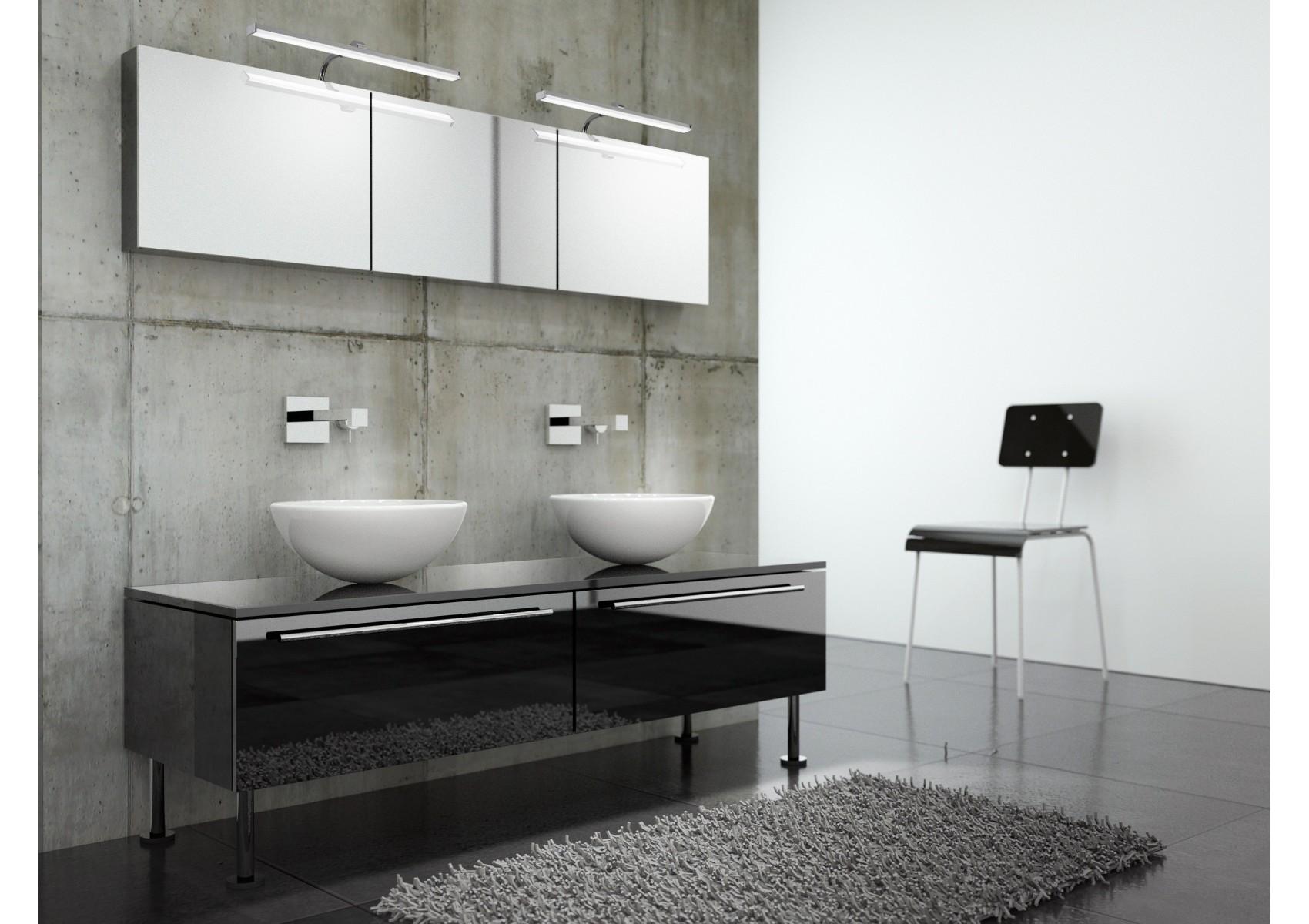 applique design sisley salle de bain et tableau 36 cm boite design. Black Bedroom Furniture Sets. Home Design Ideas