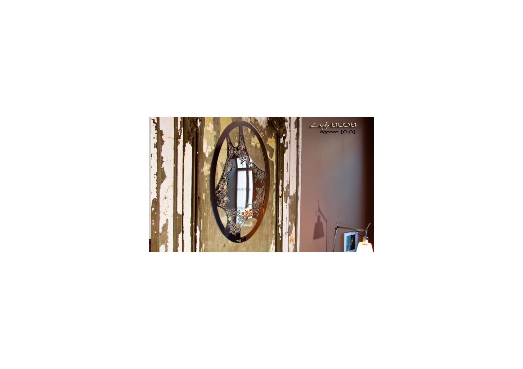 Miroir design- Lady Blob