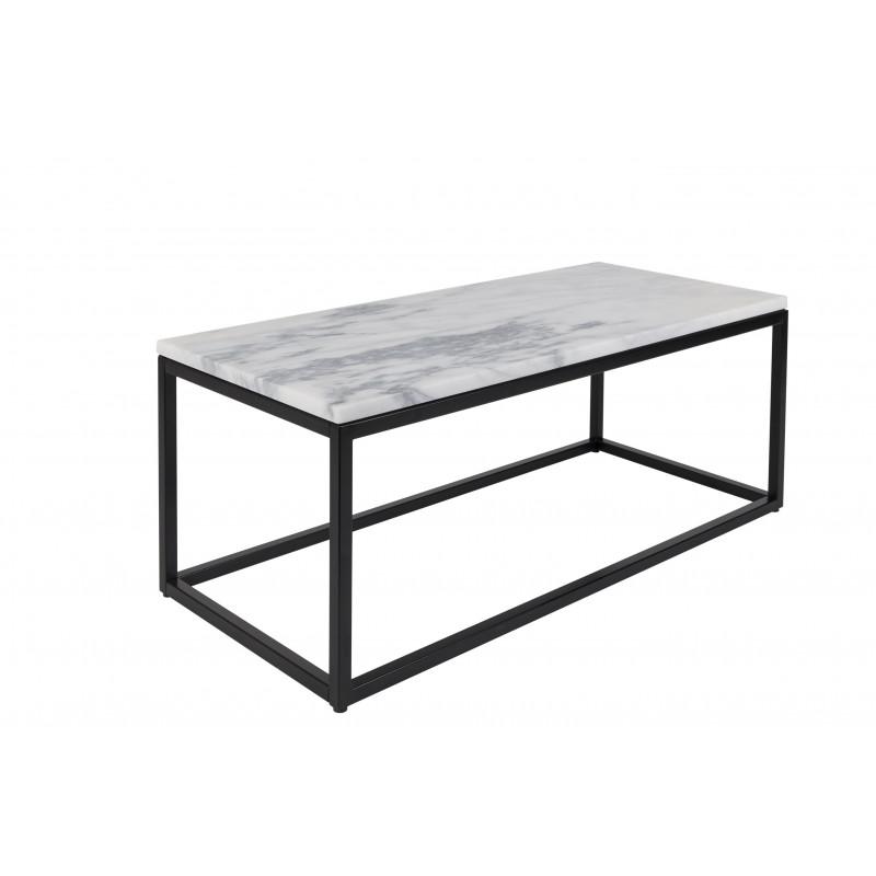 Table basse marbre power deco design