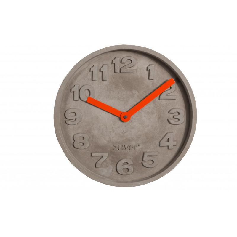 horloge concrete time design