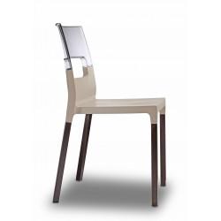 chaise natural drop pieds bois