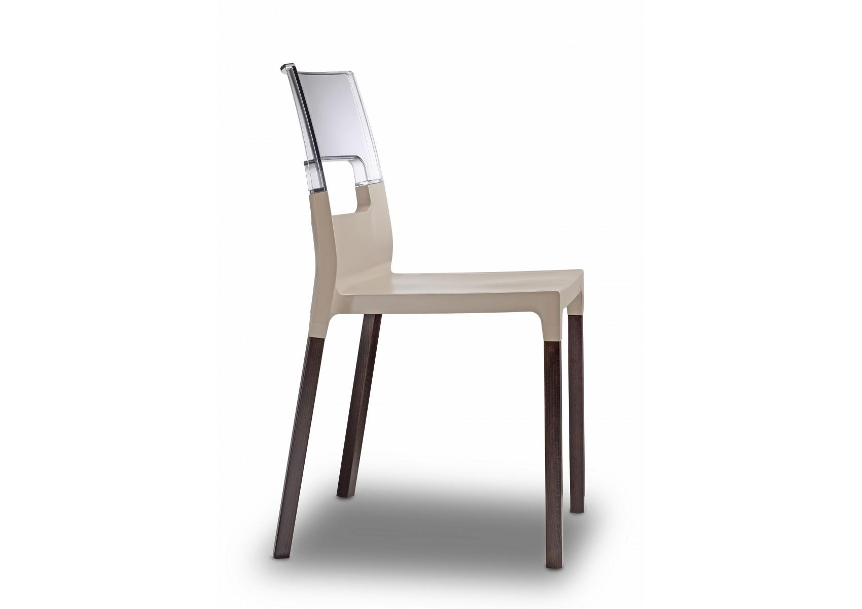 Chaise translucide natural diva par scab design boite for Trans meubles 83