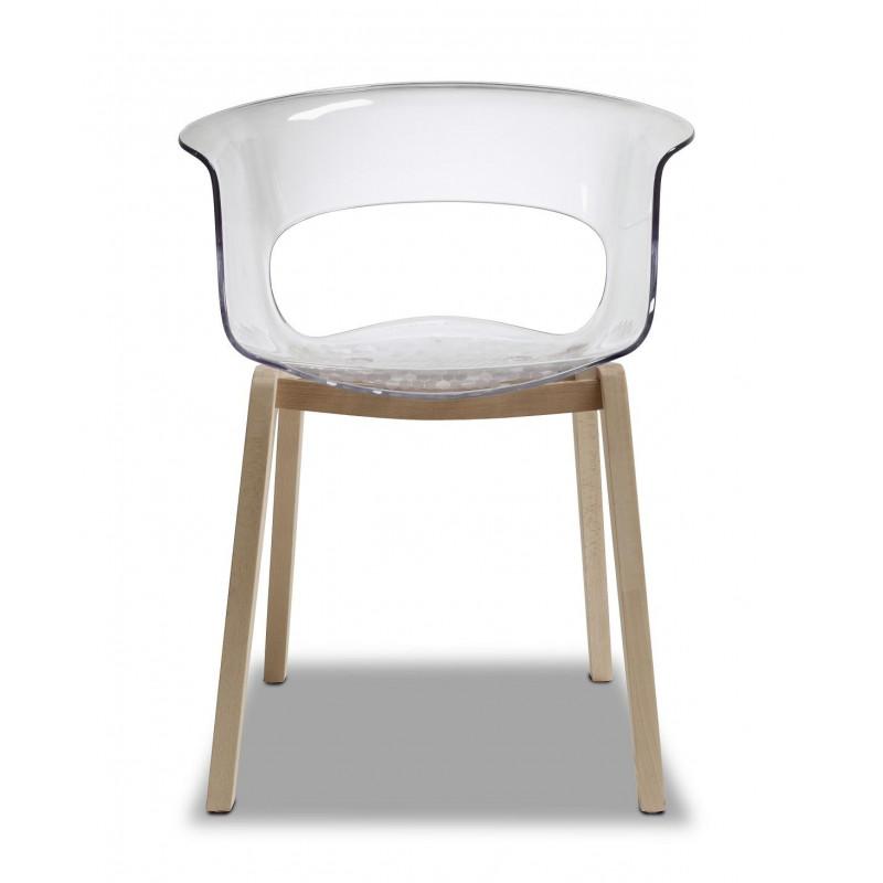 Chaise design Natural Miss B par Scab design