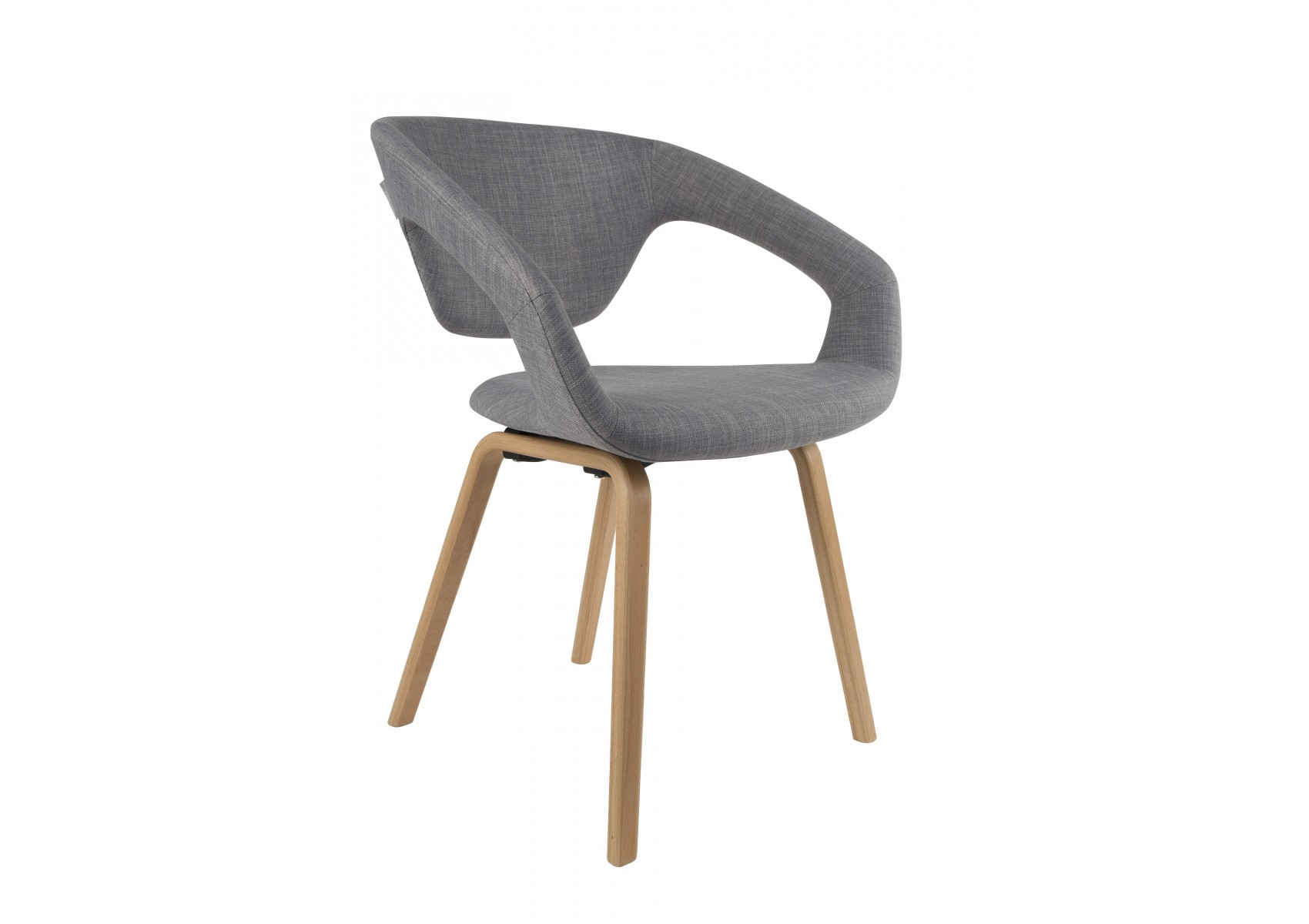 Chaise design flex back par zuiver boite design for Chaise 3 pieds