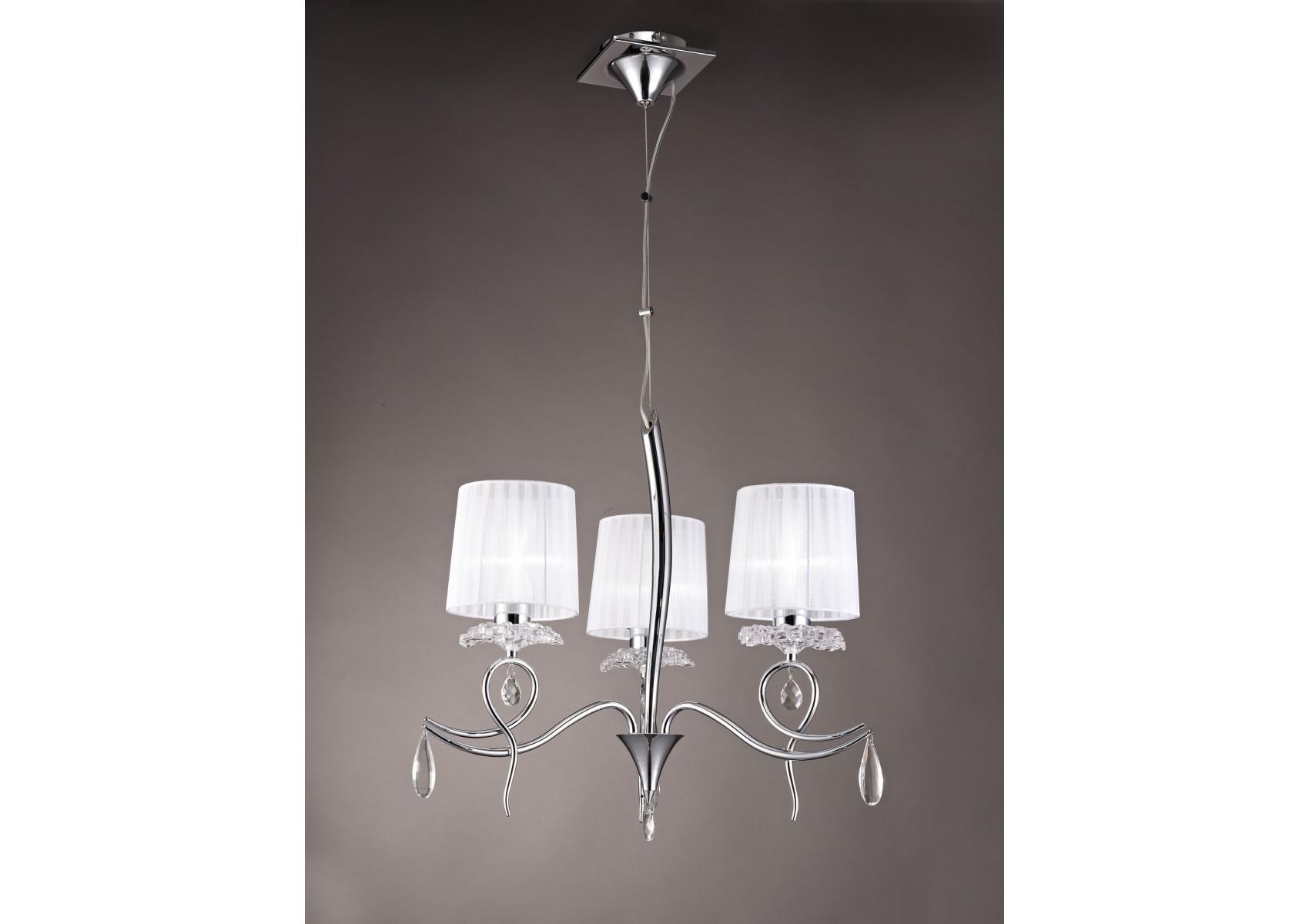 suspension baroque 3 lampes louise boite design. Black Bedroom Furniture Sets. Home Design Ideas
