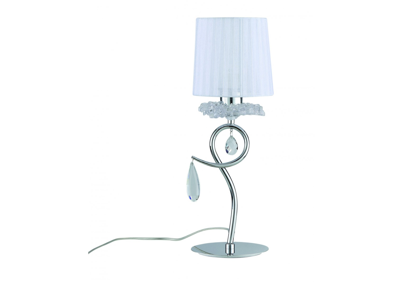 Lampe baroque louise boite design for Lampe a poser baroque