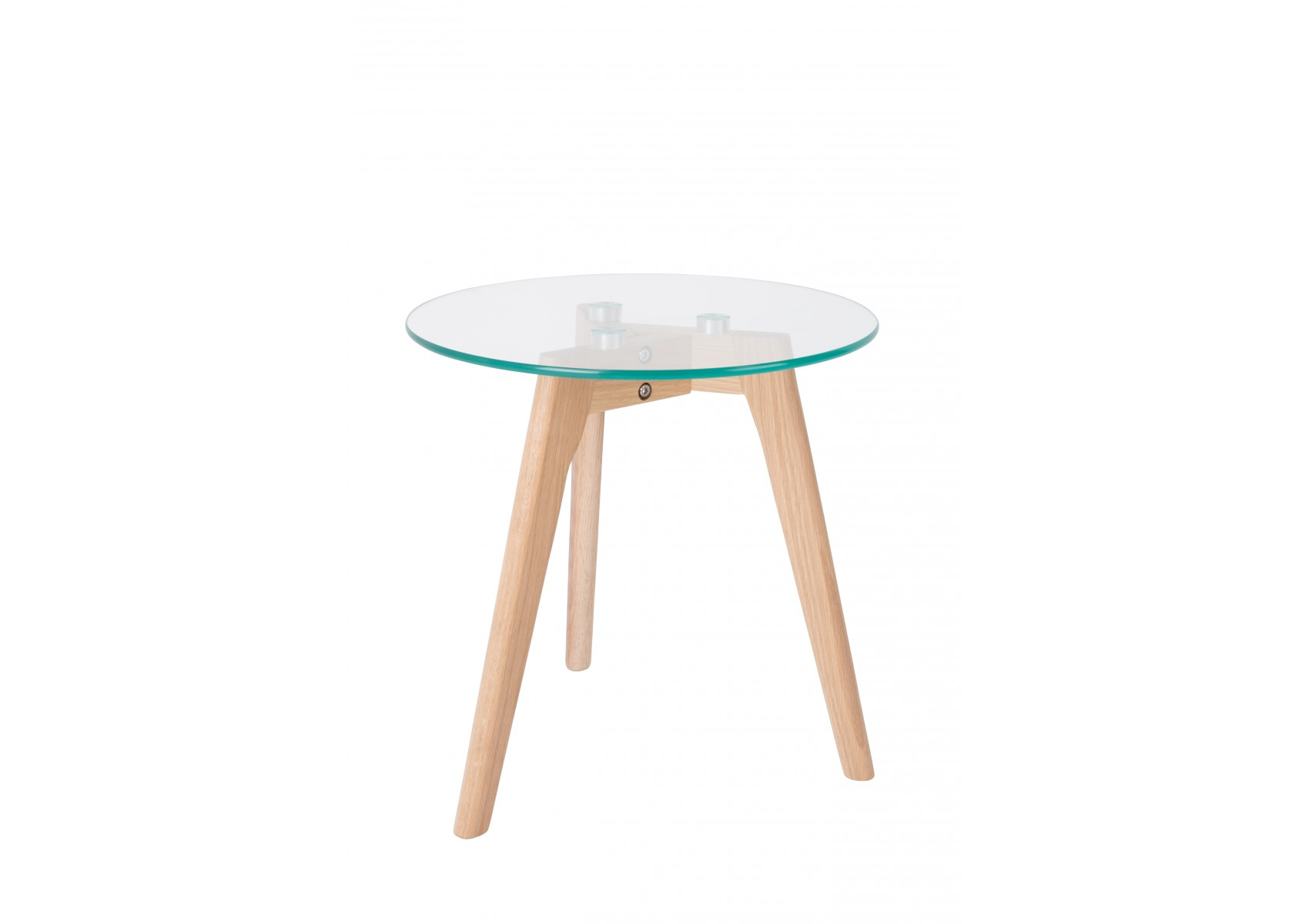 Tables basses scandinave bror en verre et ch ne massif for Table basse scandinave en chene