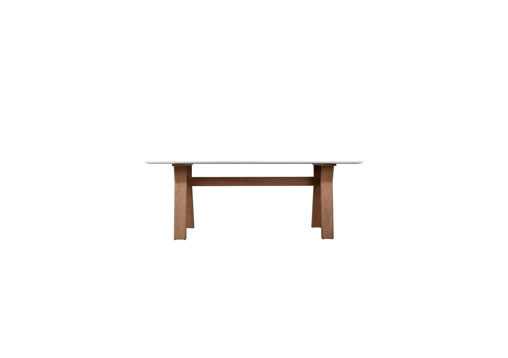 Table repas ou bureau table high on wood blanche et for Table bureau bois
