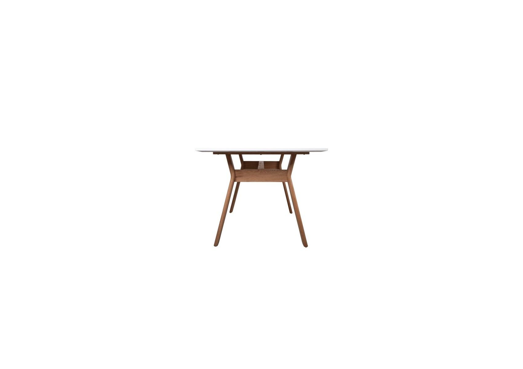 table repas ou bureau table high on wood blanche et. Black Bedroom Furniture Sets. Home Design Ideas