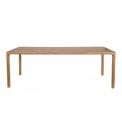 Table de repas - STORM en bois de frêne 220 cm