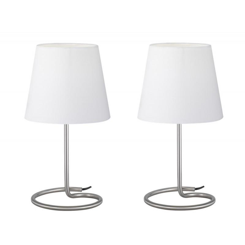 Set de deux lampes à poser Twin