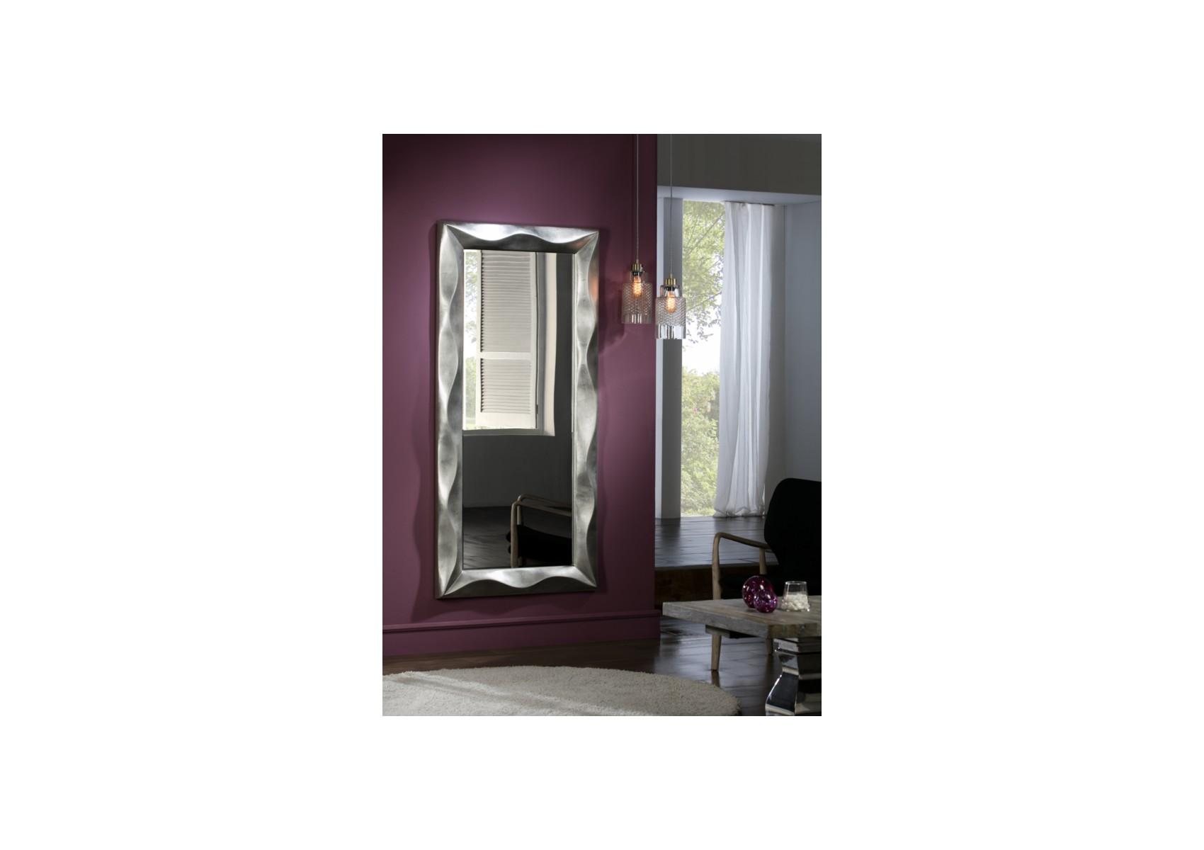 Miroir original design rectangulaire alboran boudoir for Miroir original