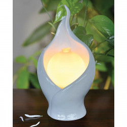Fontaine design lampe flamme