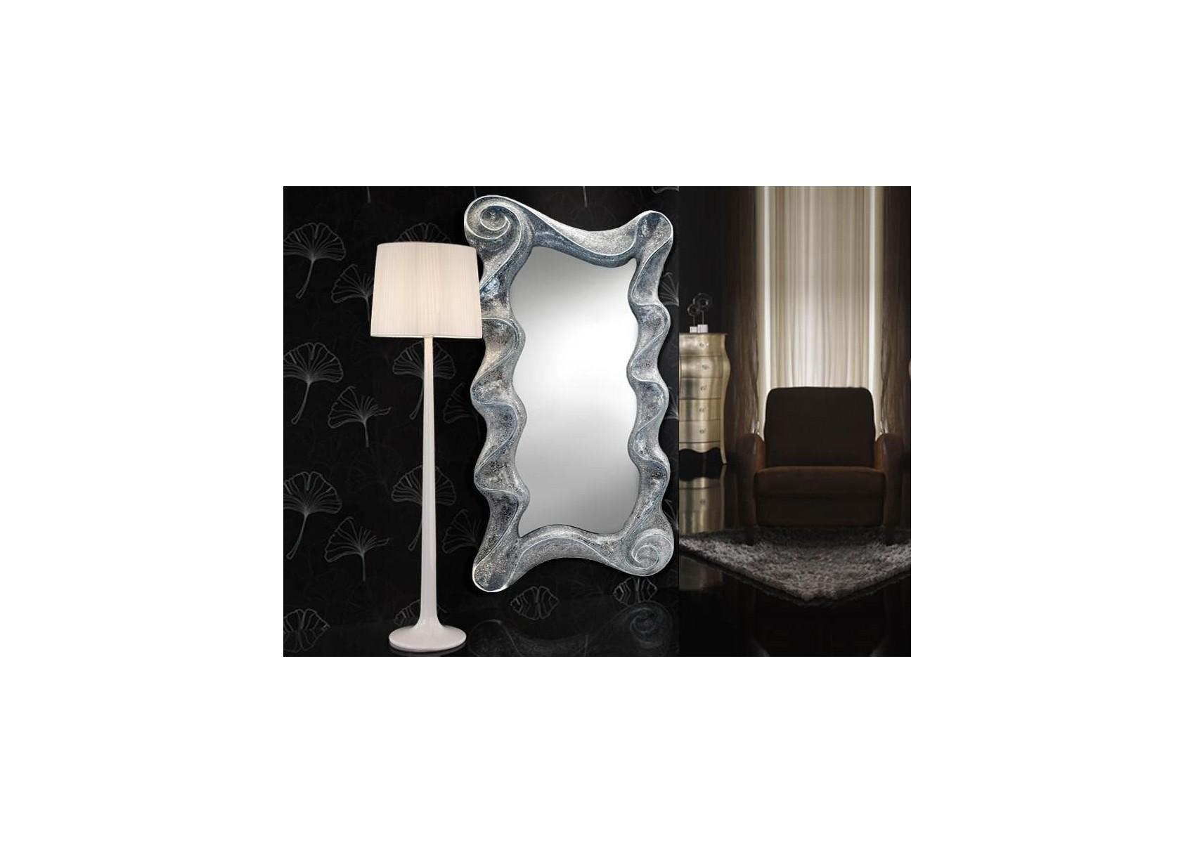 "Miroir rectangulaire Ondes collection ""GAUDI"" design - deco schuller"