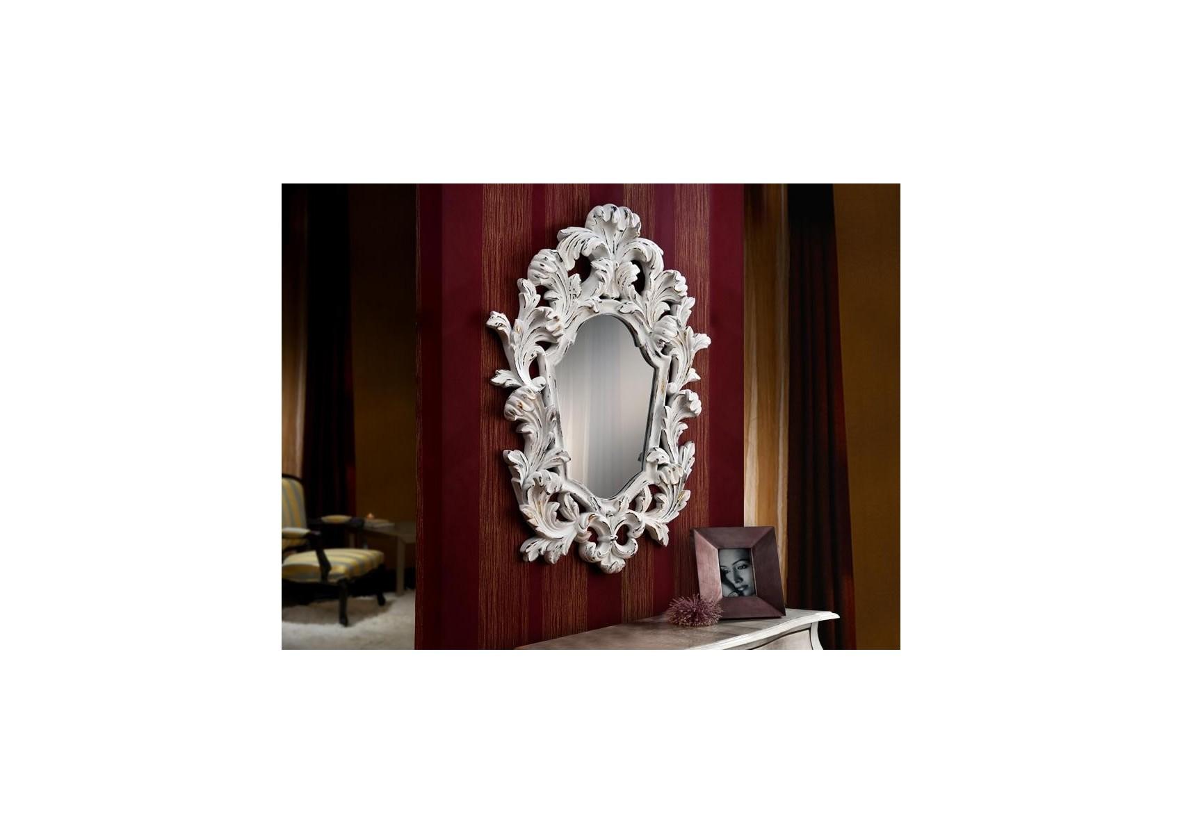Miroir original design - JULIETTE BLANC - deco schuller