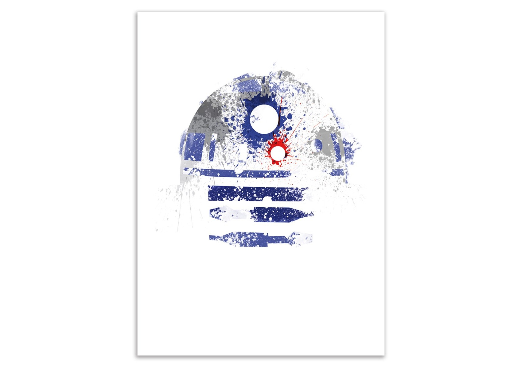 poster r2d2 de star wars astromech deetoo arian noveir 50 x 70 cm. Black Bedroom Furniture Sets. Home Design Ideas